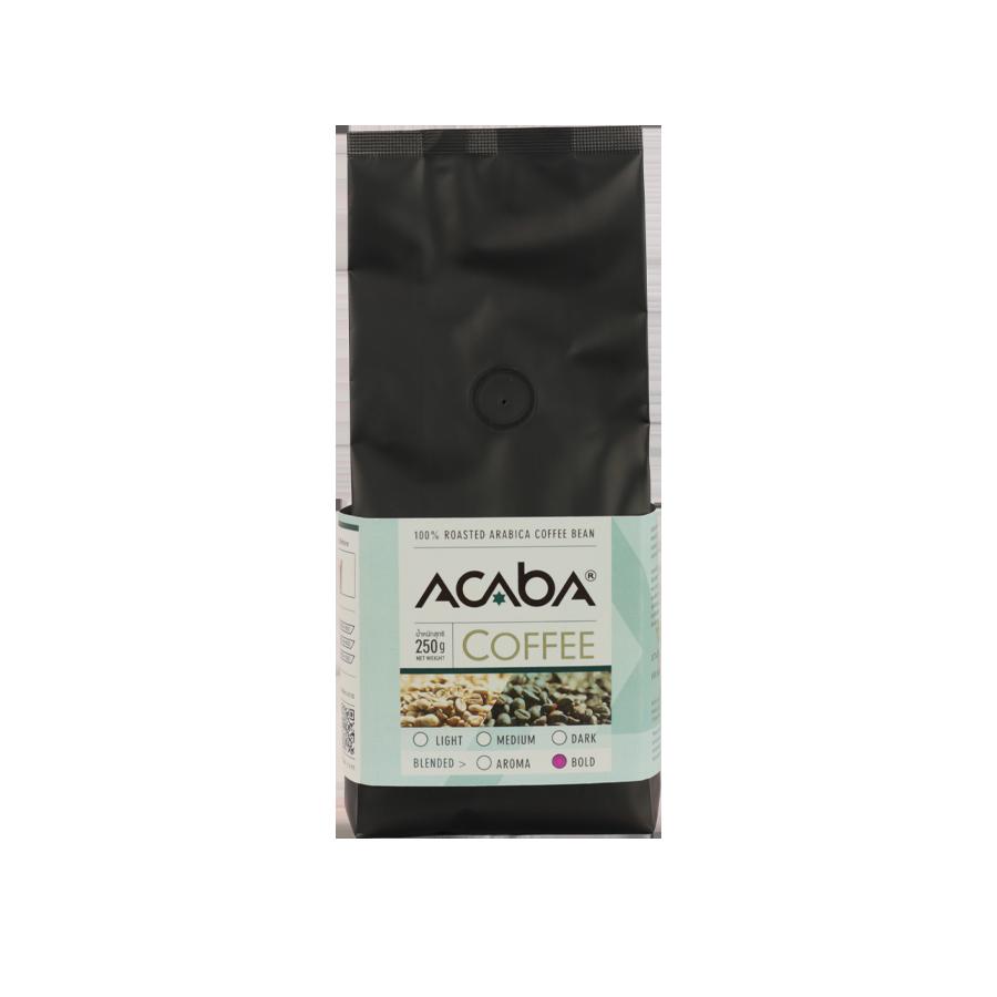 กาแฟคั่วกลางค่อนเข้ม BOLD 250 กรัม