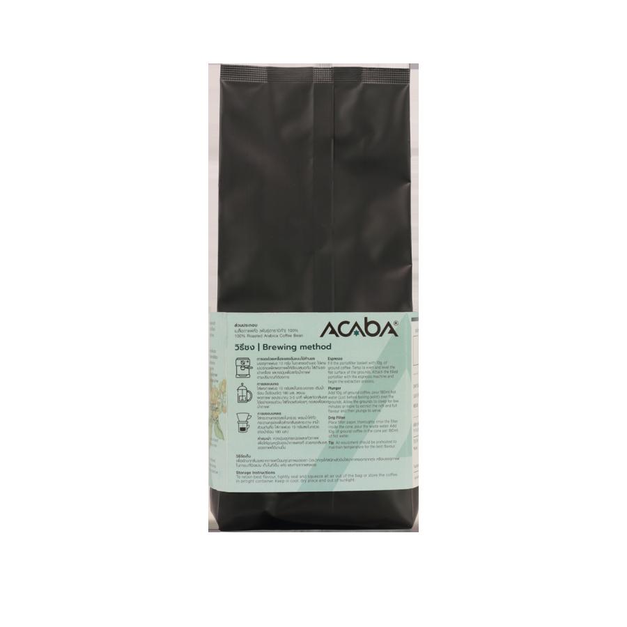 เมล็ดกาแฟคั่วกลางค่อนเข้ม Bold 250 กรัม x 10 ถุง